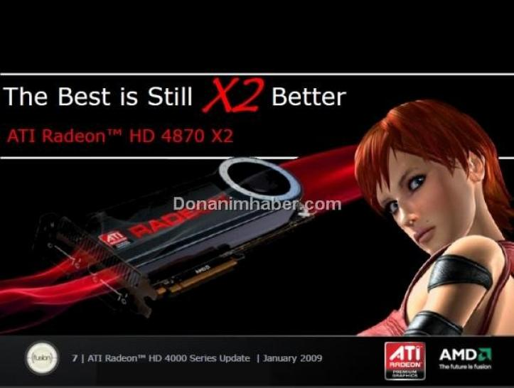 AMD thinks: HD 4870 X2 faster than Geforce GTX 295 (picture: <a href=