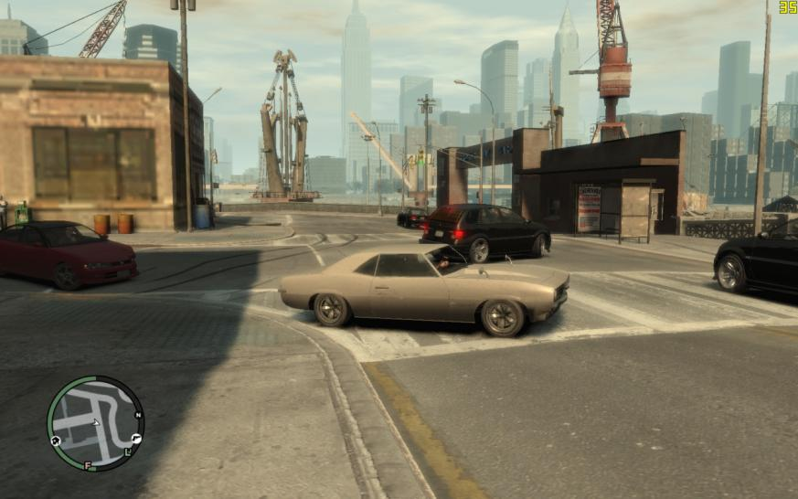 GTA 4: Making full use of 512 MiByte graphics cards: Benchmarks