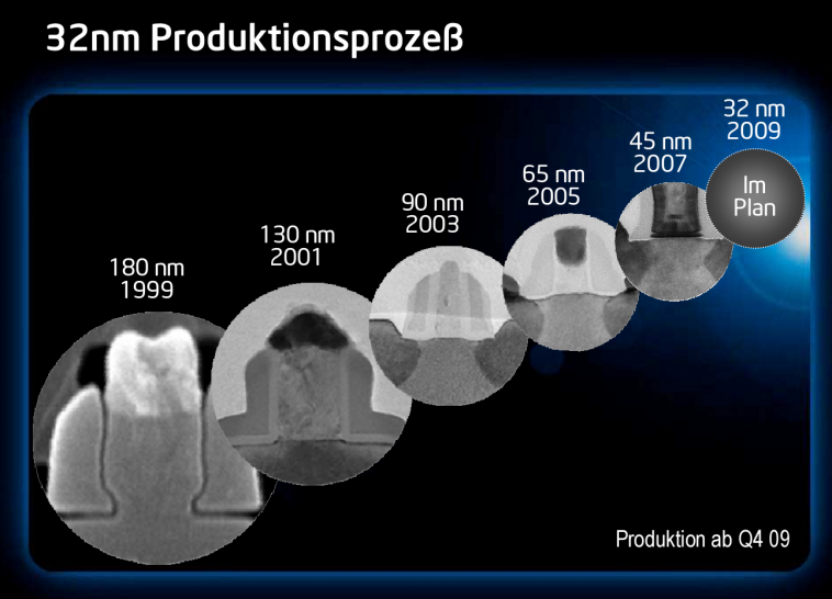 Intel Cebit Preview: 32 Nanometer Production
