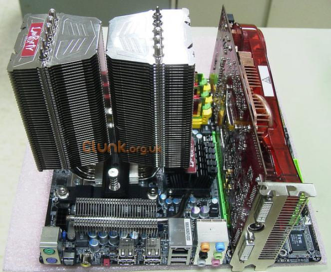DFI Lanparty CPU cooler (picture: <a href=