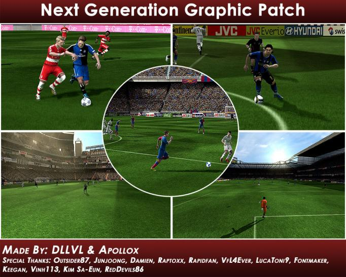 Next Generation Graphics Patch for FIFA 09 (picture: Fifa4fans.com)