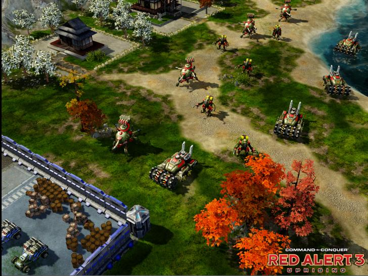 Command & Conquer: Red Alert 3 - Uprising (1)