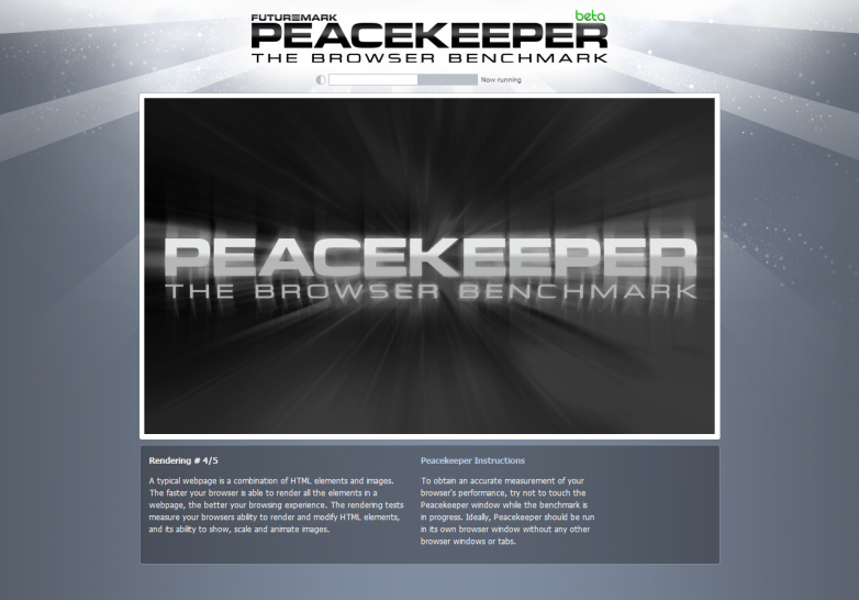 Peacekeeper: Futuremark introduces web browser benchmark (1)