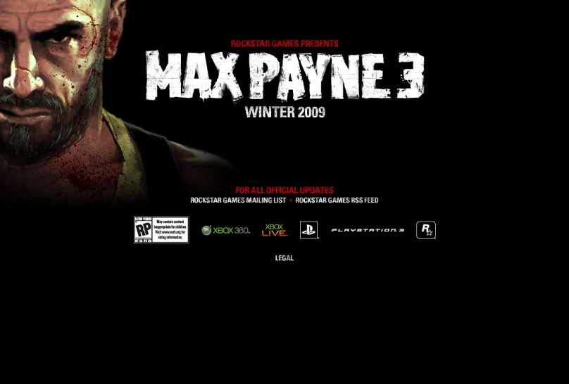 Official Max Payne 3 website