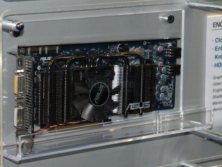 Asus Geforce GTS 250 Dark Knight unveiled at the Cebit