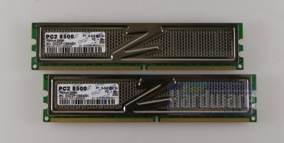 OCZ OCZ2P10664GK: DDR2-1066-Kit im Test