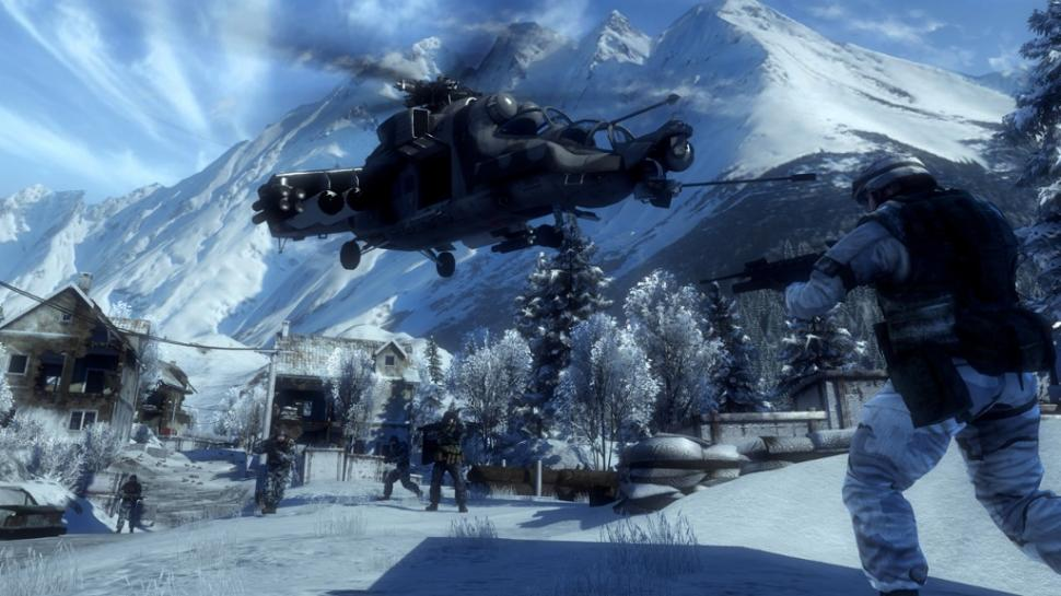 Battlefield Bad Company 2 is based on the Frostbite Engine (1)