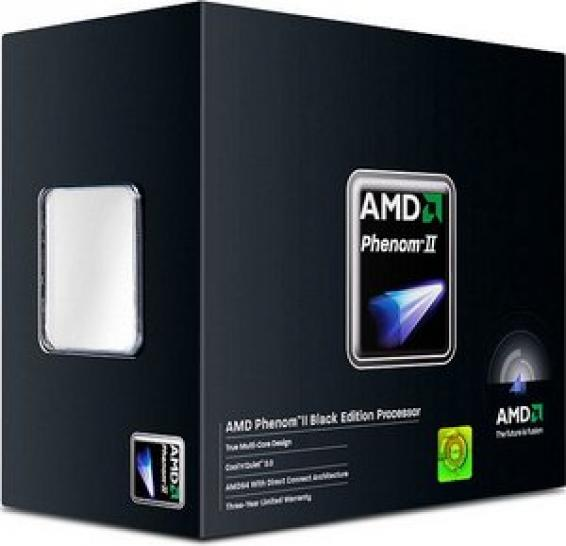 Platz 01: AMD Phenom II X4 955 Black Edition, 4x 3.20GHz