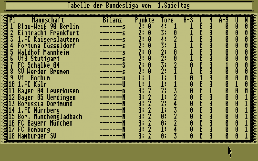 Bundesliga Manager Professional Free Download Vollversion