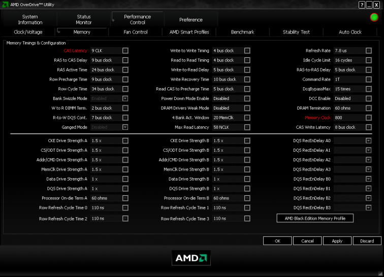AMD Overdrive Version 3.01 (1)