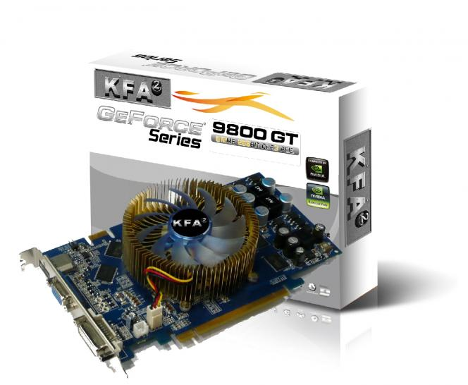 KFA2 Nvidia 9800 GT Green IT 512 MB