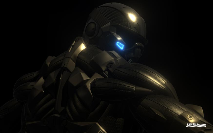Crysis High-Poly Nanosuit wallpaper by Mong0ose