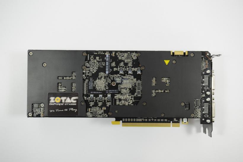 Nvidia Geforce GTX 295 Single PCB reviewed