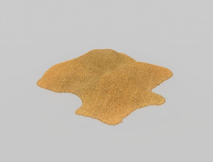Sand: With about 25% (mass) Silicon is – after Oxygen – the second most frequent chemical element in the earth's crust. Sand - especially Quartz - has high percentages of Silicon in the form of Silicon dioxide (SiO2) and is the base ingredient for semiconductor manufacturing.