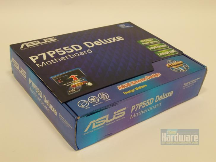 P55 motherboard Asus P7P55D Deluxe for Lynnfield CPUs (Core i5/Core i7) (1)