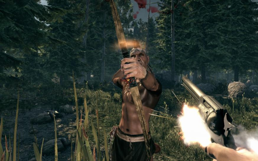 Charaktere sind lebensecht in Call of Juarez: Bound in Blood