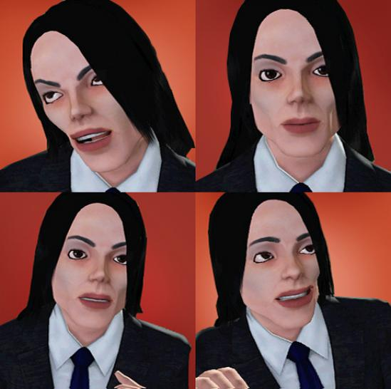 Michael Jackson mod for The Sims 3