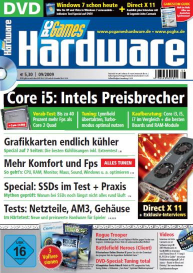 PC Games Hardware 09/2009 ab 5.8. im Handel  (3)