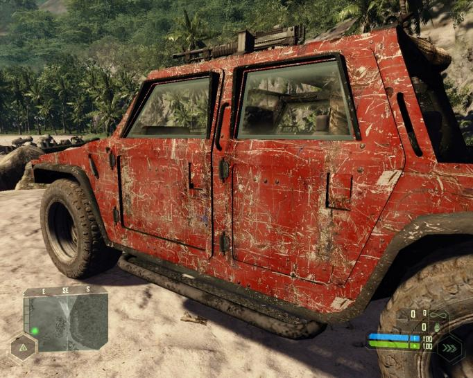 Crysis: Worth-seeing texture mods for cars, plans, ships and more. (1)