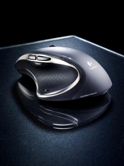 Logitech Performance Mouse MX mit Darkfield Laser Tracking