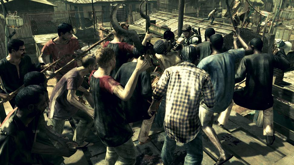 Screenshots aus Resident Evil 5 (1)
