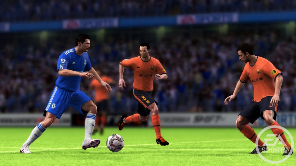 FIFA 10: With 1.7 million sold copies the launch of the game has been very successful. (1)