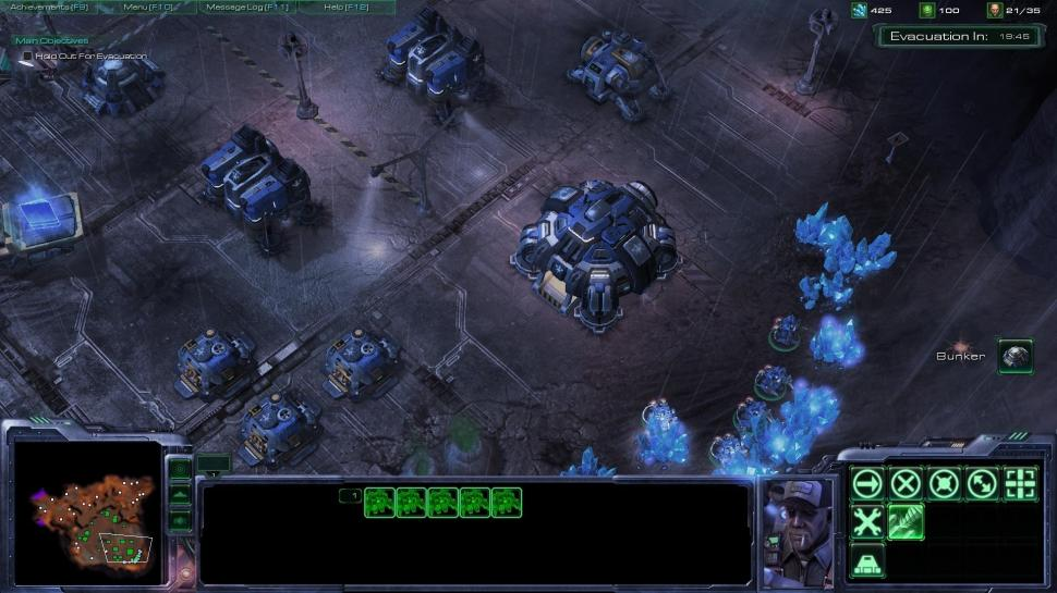 Screenshots aus Starcraft 2