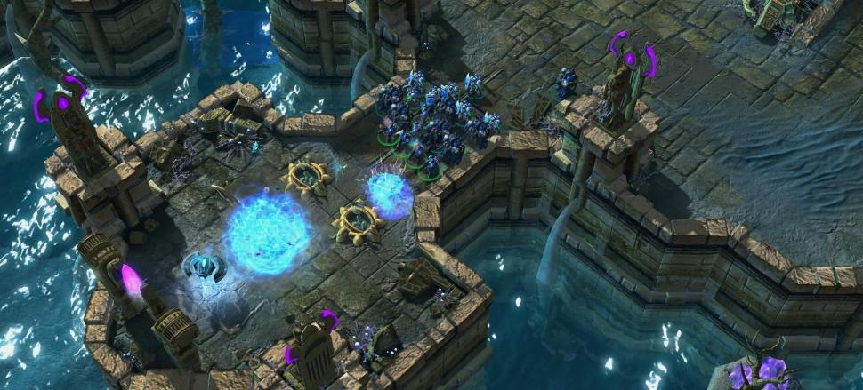 Best of show-Award: StarCraft II – Wings of Liberty (Blizzard Entertainment)