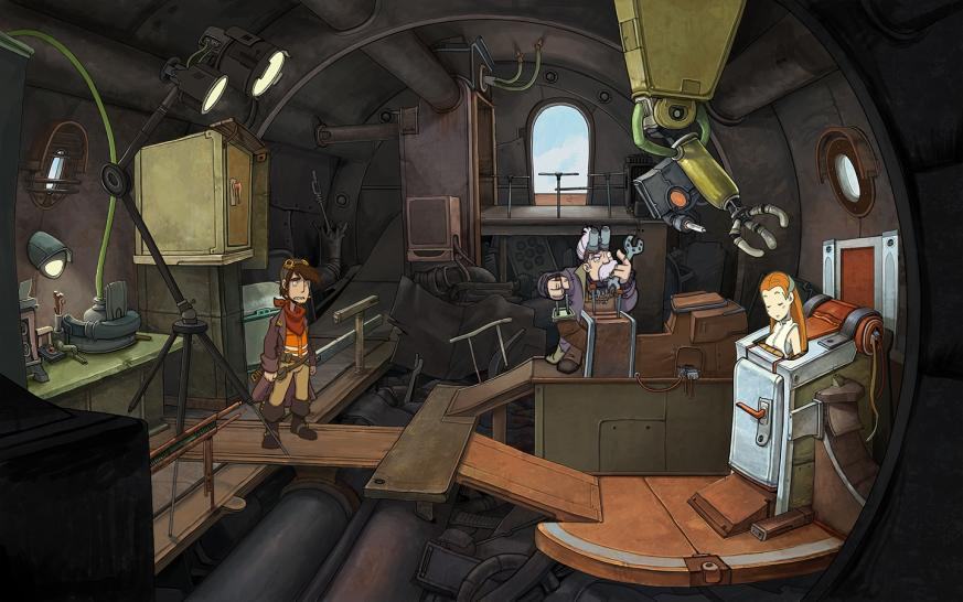 Deponia: Vorschau zum knallbunten Point-and-Click-Adventure (1)