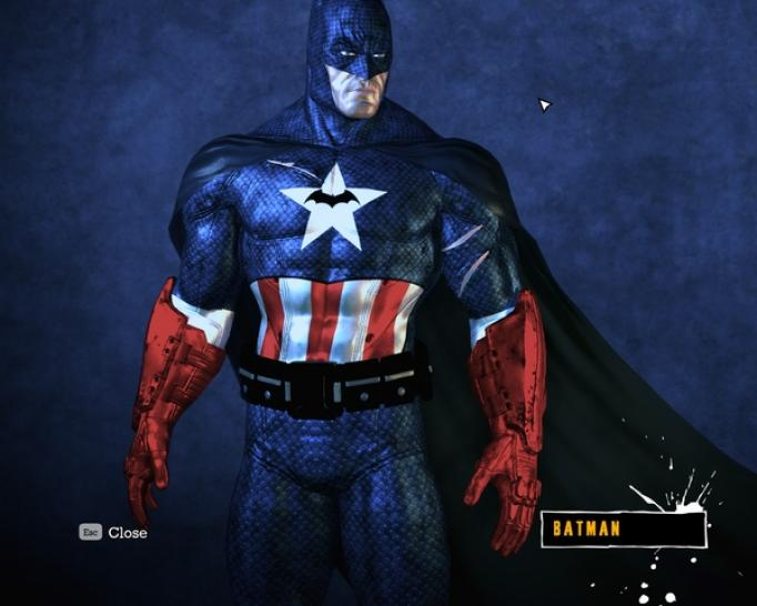 Batman: Arkham Asylum - Batman costume modifications
