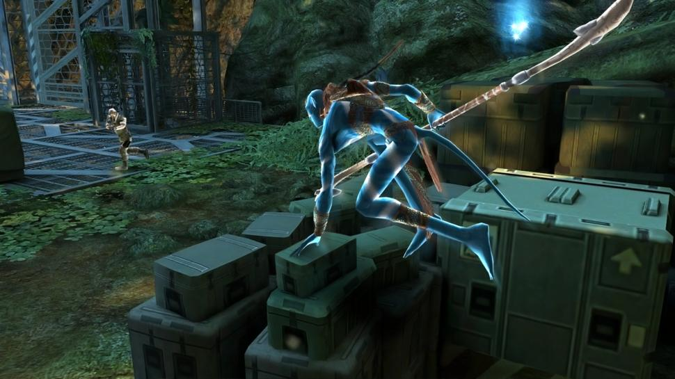 James Cameron's Avatar: Screenshots of the Wii version