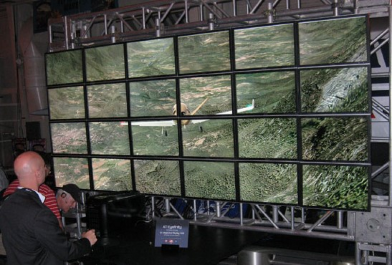 Ati Eyefinity: Flight Simulator auf 24 Monitoren