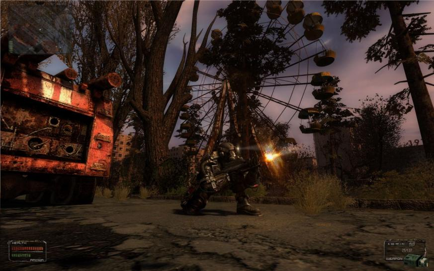 Stalker Complete 2009: Excellent modded graphics for Shadow
