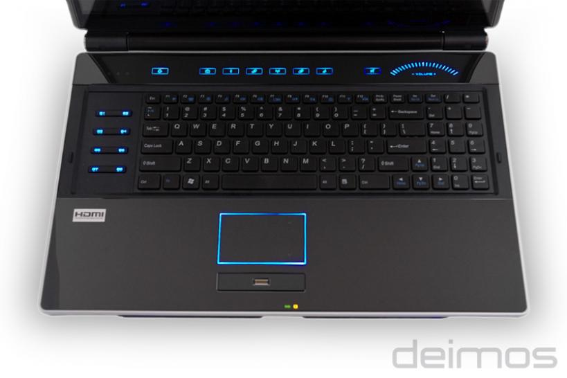 BFG Deimos X-10 SLI Gaming Notebook (1)