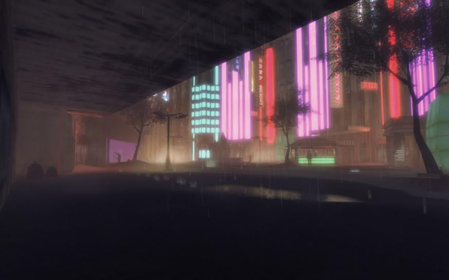 Crysis Cyberpunk-Noir City Environment screenshot (1)