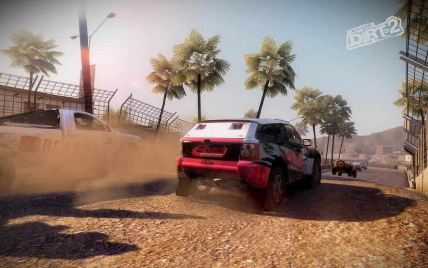 Dirt 2: Pictures of the PC version (1)
