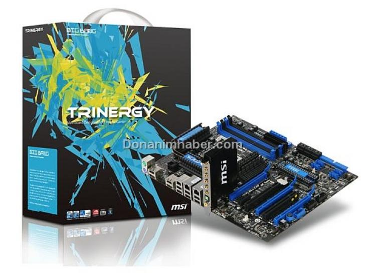 MSI-P55-Mainboard Trinergy mit Lucid-Hydra-200-Chip