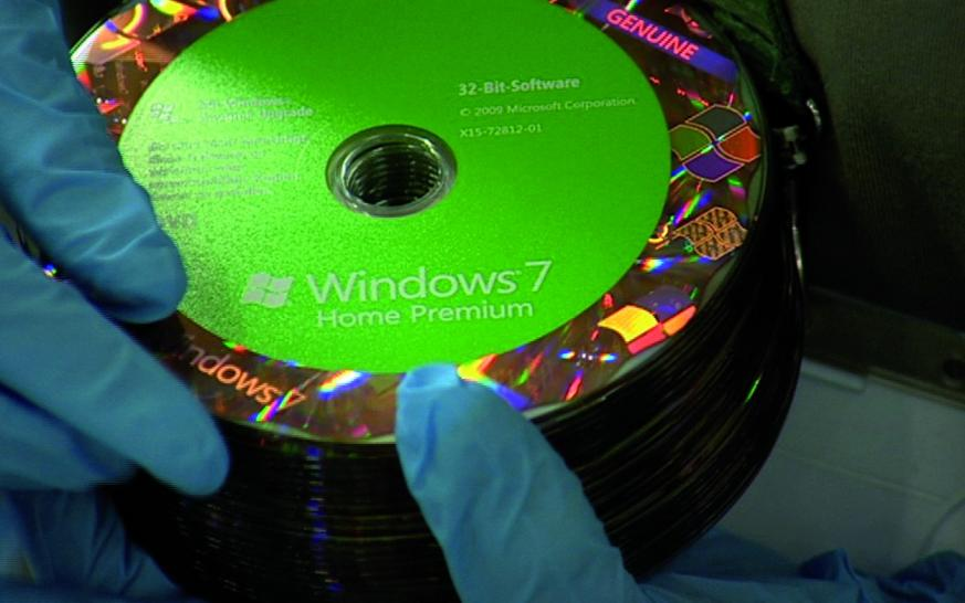 Windows 7: Bilder aus der Produktion (1)