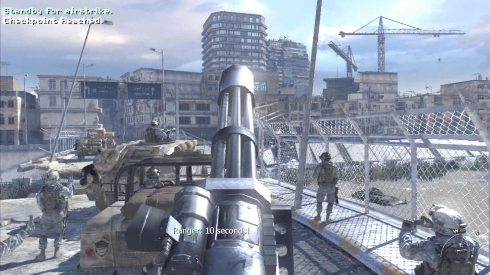 Call of Duty 6: Modern Warfare 2: Selbst gemachte Screenshots von den Konsolenversionen (1)