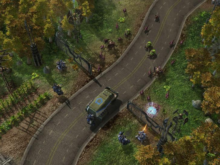 Screenshots aus Starcraft 2 (1)