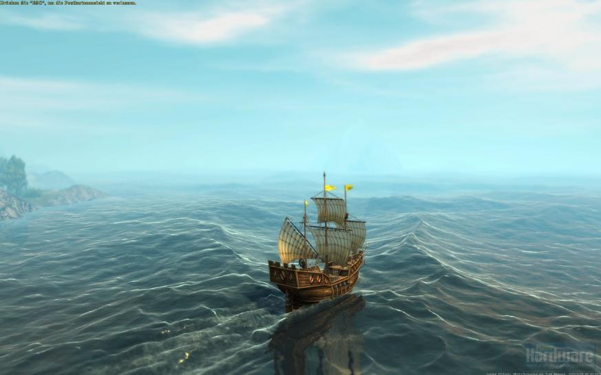 Water Top 3: Anno 1404 Dawn of Discovery (1st place)