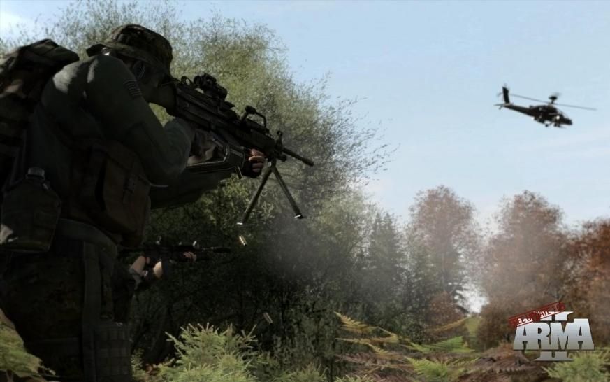 ArmA 2: With Patch 1.05 the mini campaign Eagle Wing is introduced to ArmA 2 (1)