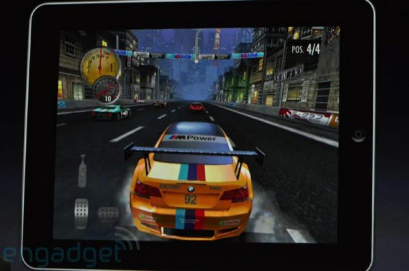 Need for Speed Shift on the Apple Ipad (1)