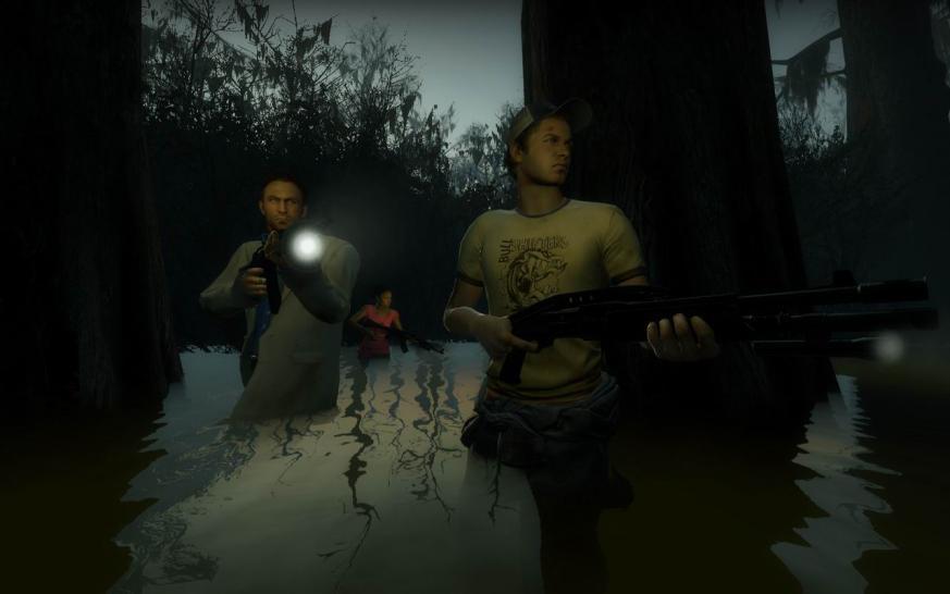 Left 4 Dead 2 mit maximaler Bildqualität - Update mit zwölf