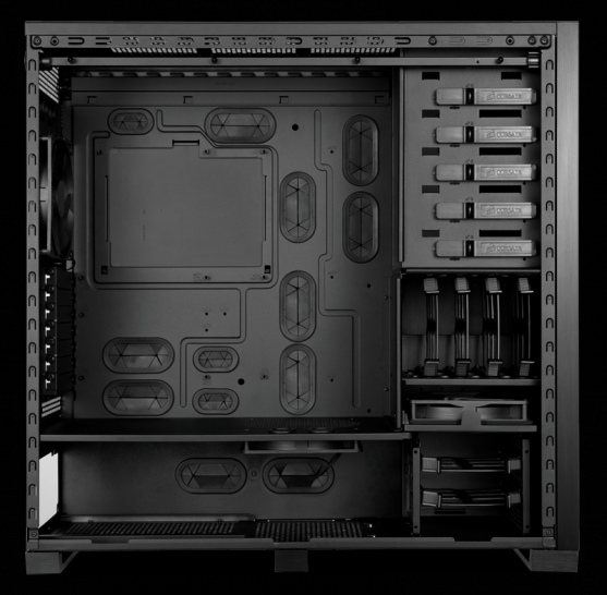Corsair Obsidian 700D: New high-end case introduced (1)