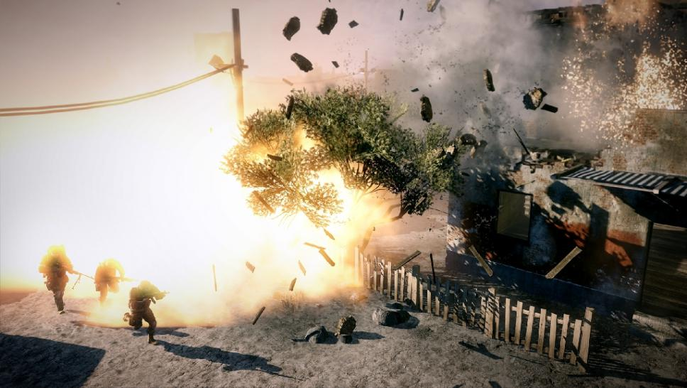 Battlefield: Bad Company 2 - New pictures of the DX 11 game. (1)