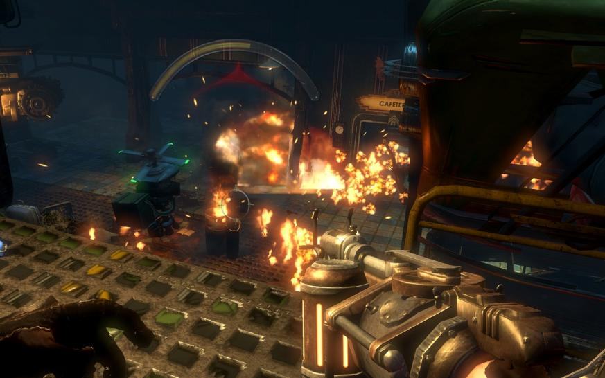 Screenshots aus Bioshock 2 (1)