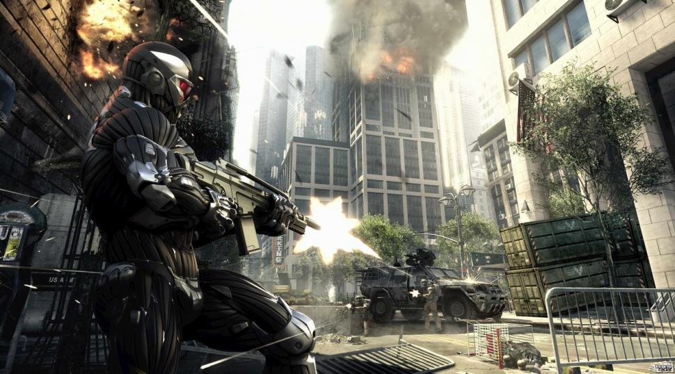 Crysis 2: The first screenshots and render arts (1)