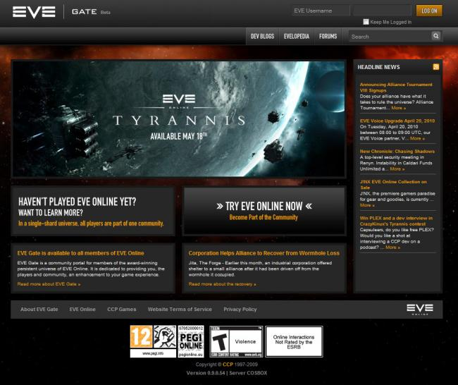 Weltraum-MMO: Eve Online