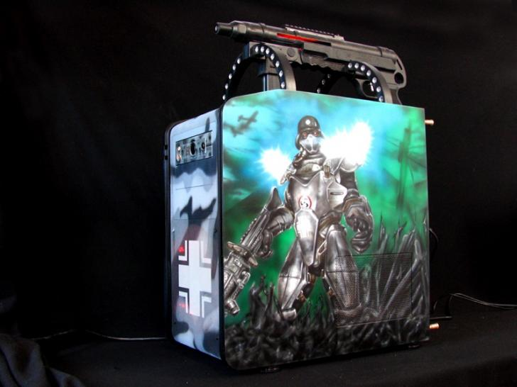 NZXT Panzerbox: Wolfenstein-Casemod im Youtube-Video (1)